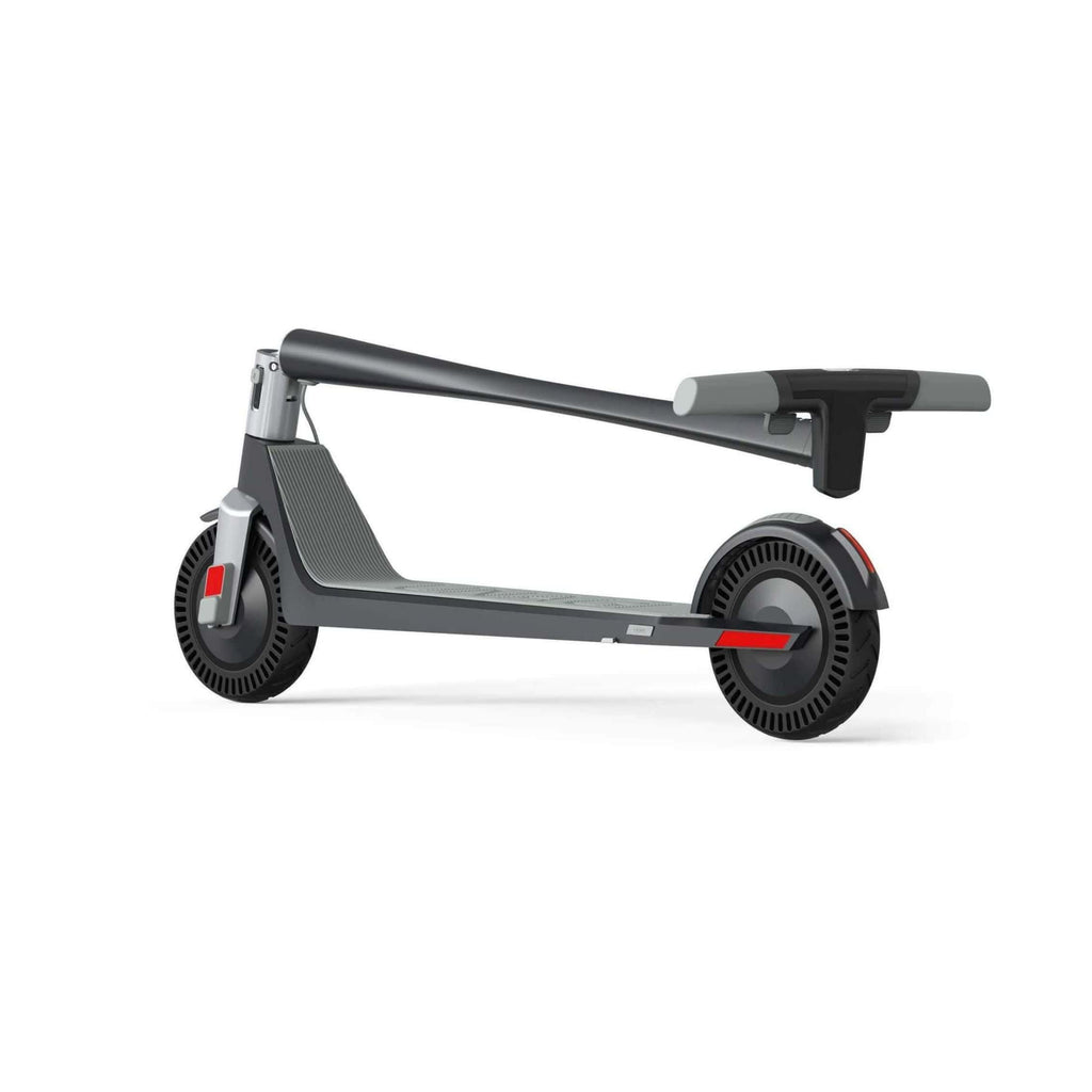 Unagi Model One Electric Scooter folded side rear view