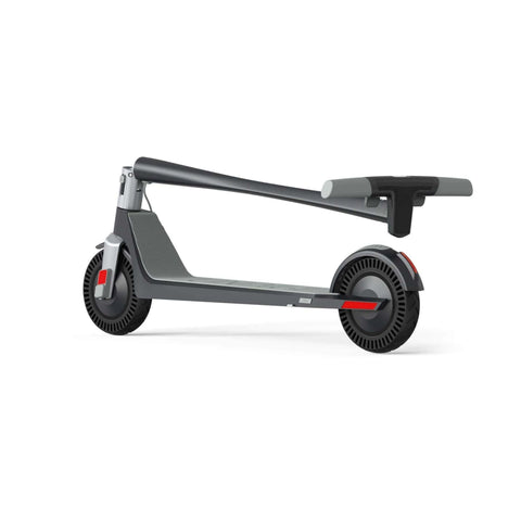 Image of Unagi Model One Electric Scooter folded side rear view