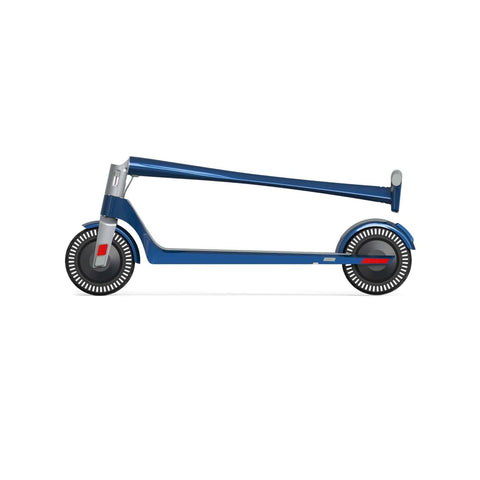 Image of Unagi Model One Electric Scooter blue side view