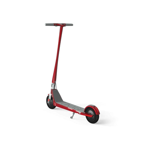 Unagi Model One Electric Scooter red rear view