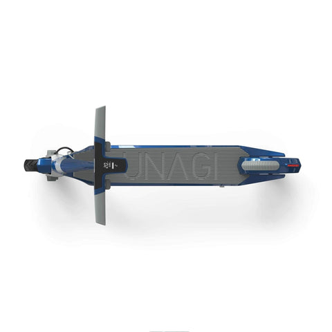 Image of Unagi Model One Electric Scooter blue top view