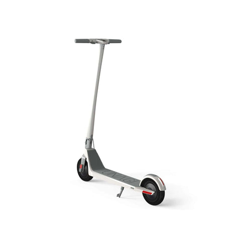 Image of Unagi Model One Electric Scooter white rear view