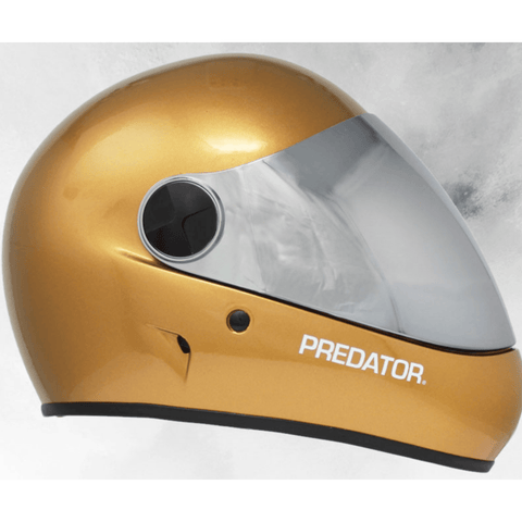 Predator DH6 Hg Full Face Helmet gold side