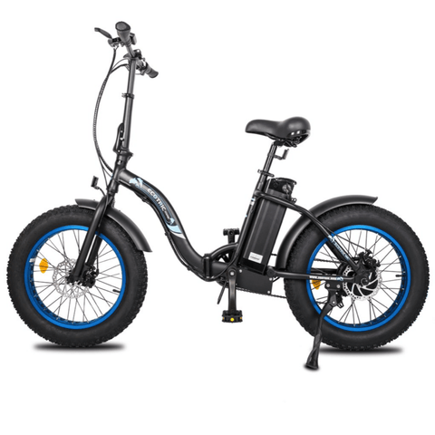Image of ECOTRIC Dolphin Fat Tire Electric Bike side view