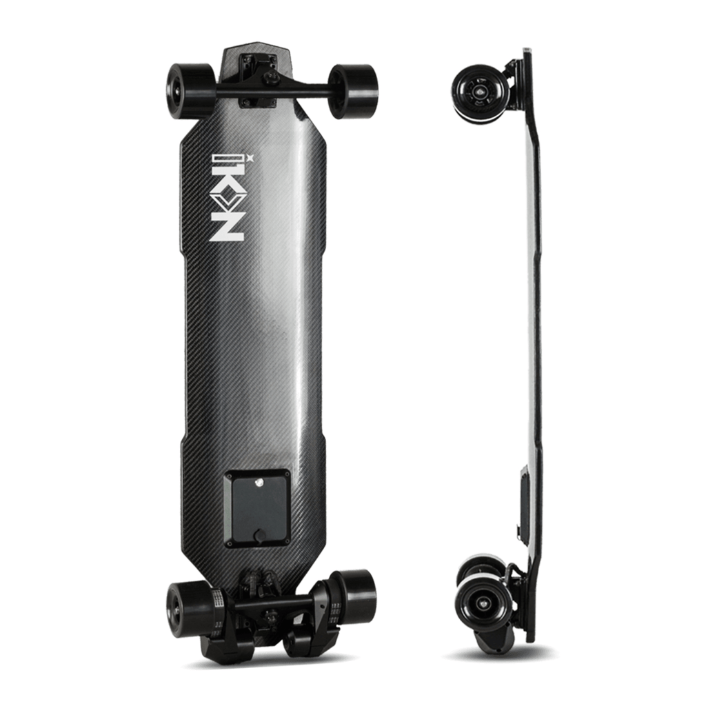 iKON Edge Electric Skateboard bottom deck and Side deck view