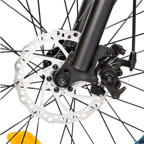 Image of ECOTRIC Dolphin Fat Tire Electric Bike front spokes
