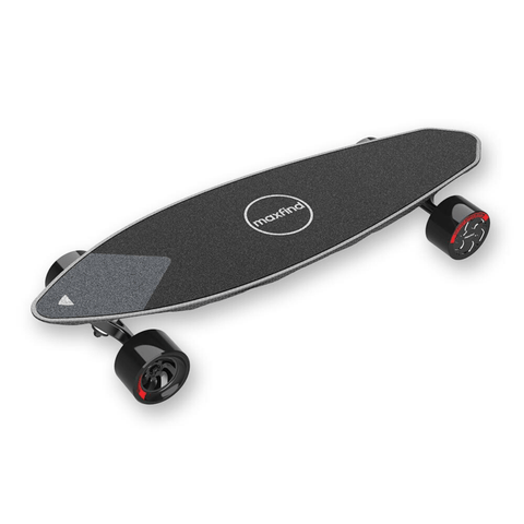 Image of Maxfind Max 2 Pro Electric Skateboard front 3D view
