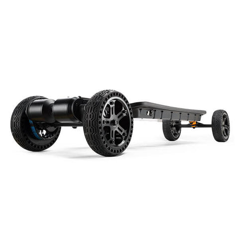 Vestar Black Hawk AT Electric Longboard All Terrain Rear View