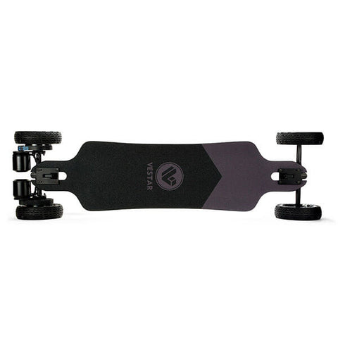 Vestar Black Hawk AT Electric Longboard All Terrain Top View