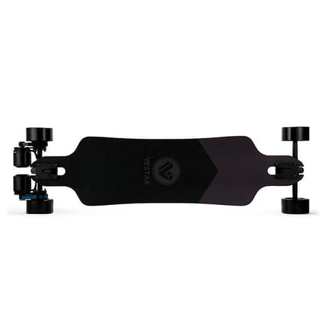 Vestar Black Hawk AT Electric Longboard Streets GTR Top View
