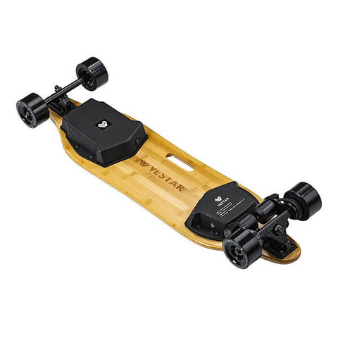 Vestar V2 Pro Dual Belt Electric Longboard Back View
