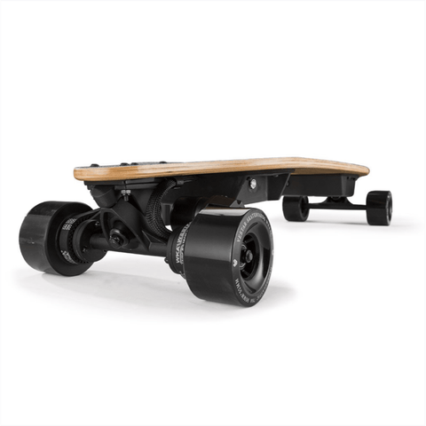Image of Vestar V2 Pro Electric Longboard turbo front angle
