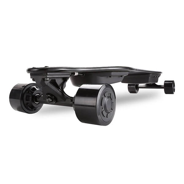 Vestor Night Fury Electric Longboard Cruise (Hub Motor) Rear View