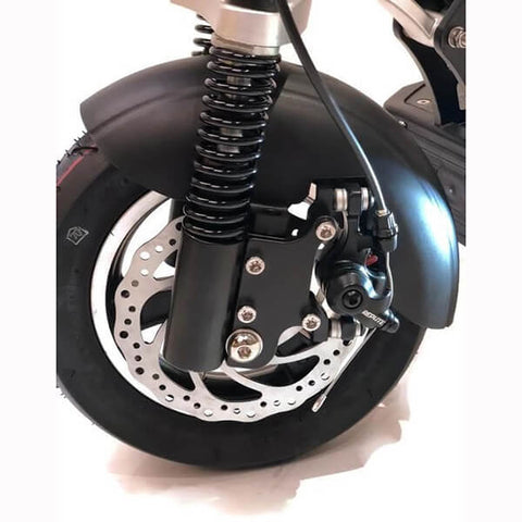 Image of Voro EMOVE Cruiser Front Wheel Black