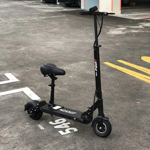 Voro Emove Touring Electric Scooter 3D View Black