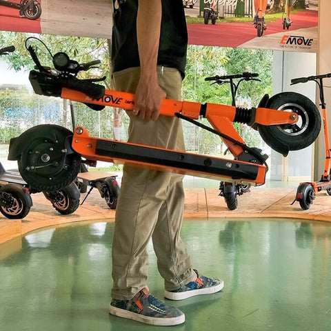 Voro Emove Touring Electric Scooter Hand Carry