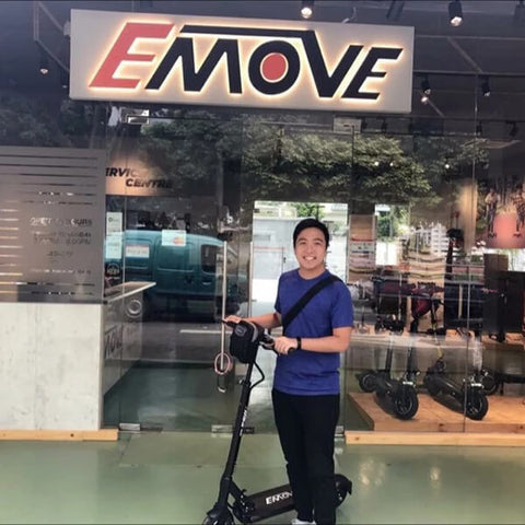 Voro Emove Touring Electric Scooter Satisfied Buyer