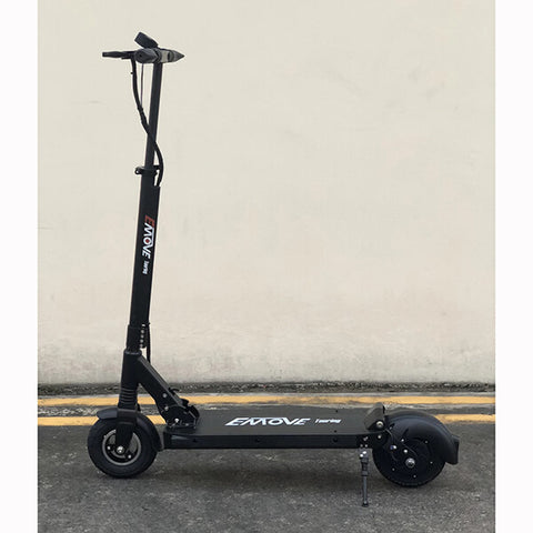 Voro Emove Touring Electric Scooter Side View Black