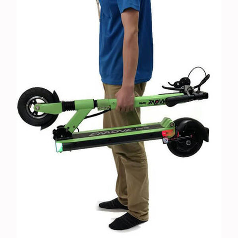 Voro Emove Touring Electric Scooter folded Hand Carry