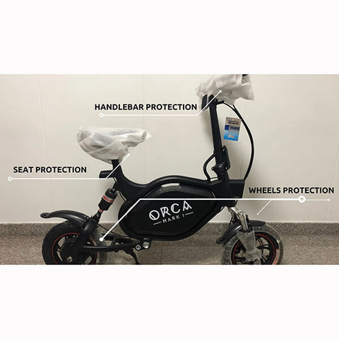 Voro ORCA Ergonomic Foldable & Seated Electric Scooter Protection