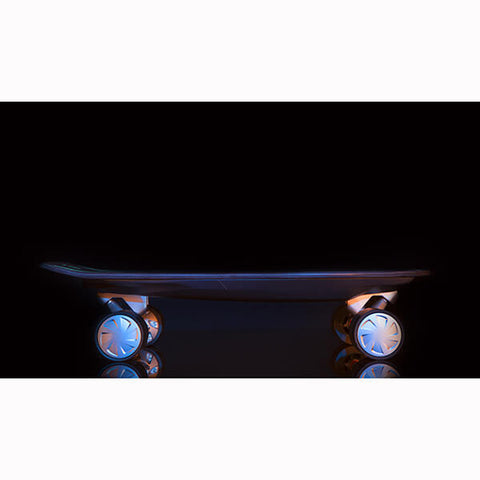 Walnutt Spectra X Electric Skateboard Details Side View