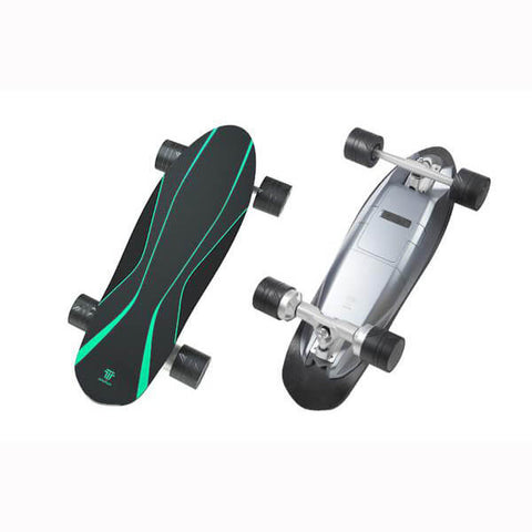 Walnutt Spectra X Electric Skateboard Top And Back View