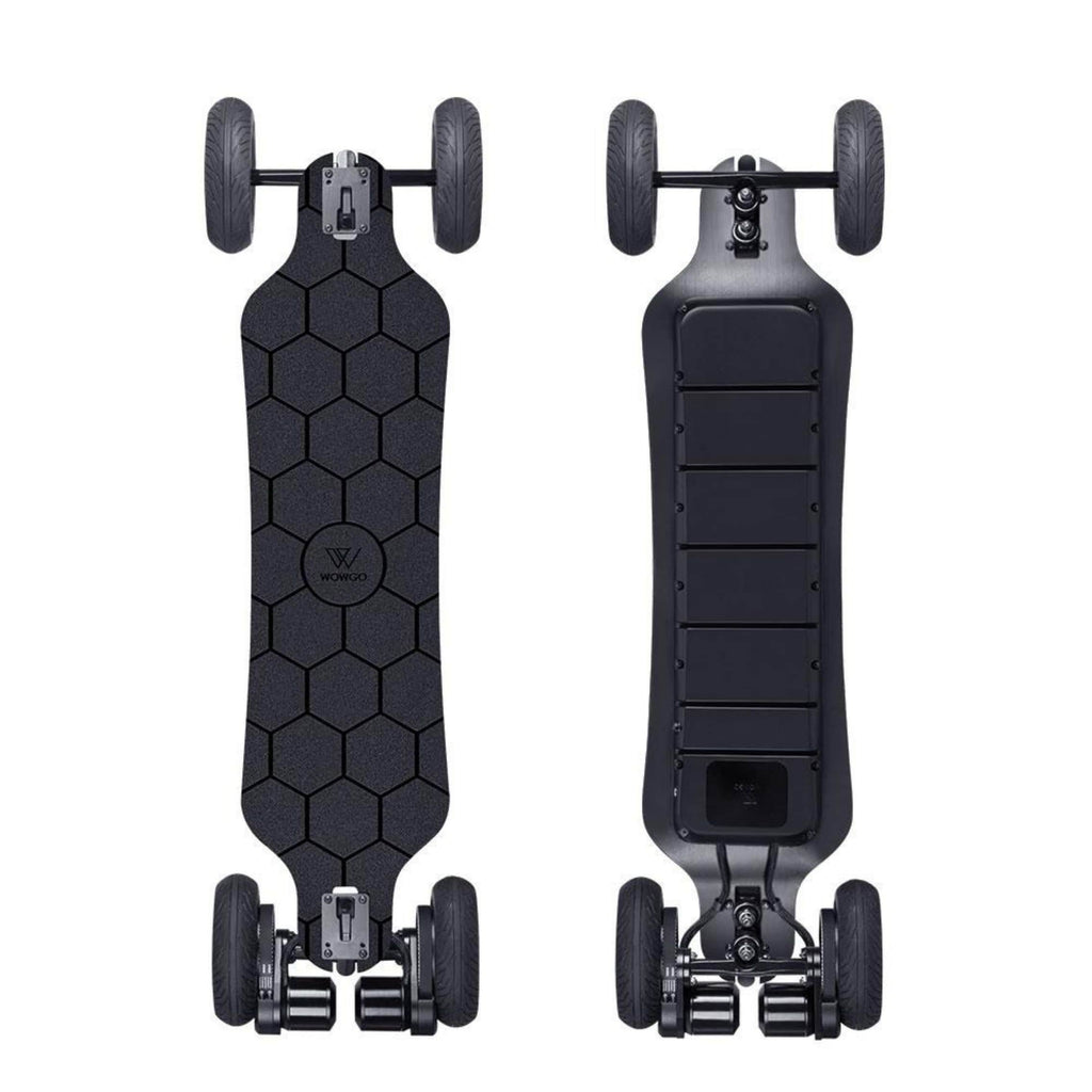 WowGo AT2 Electric Skateboard front and back