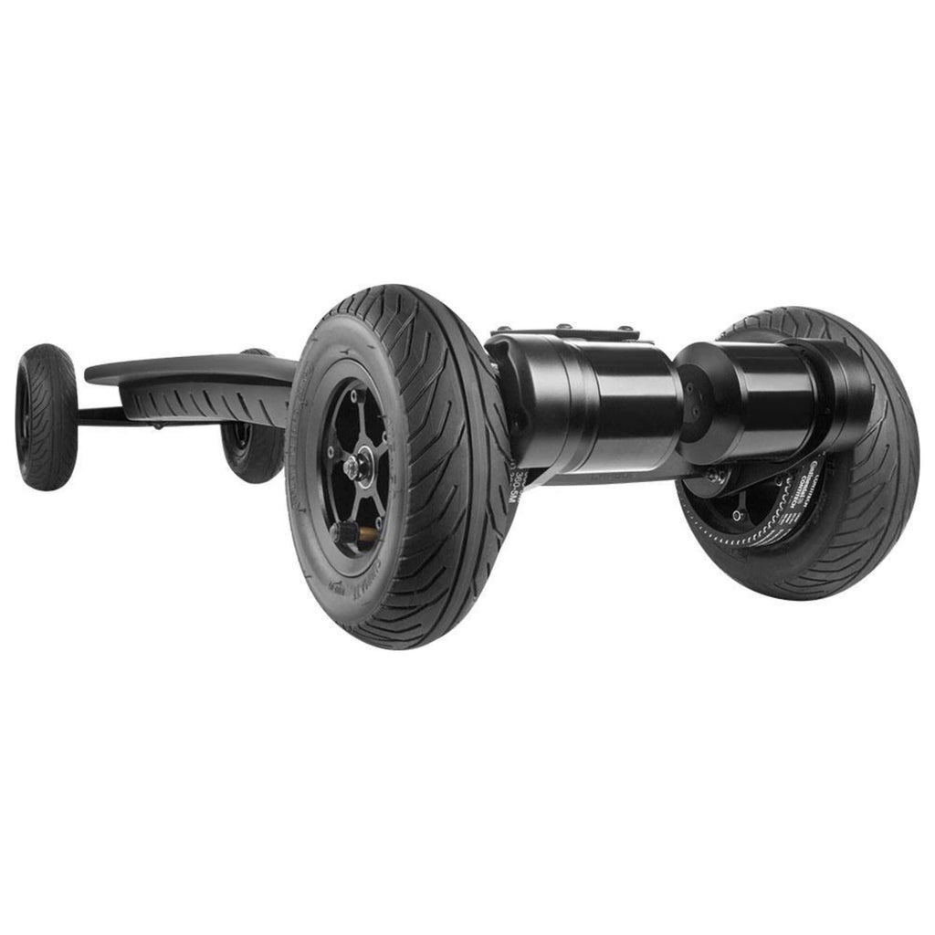 WowGo AT2 Electric Skateboard front tire close up
