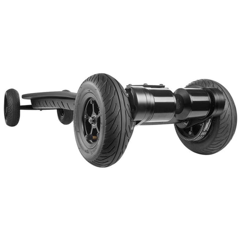 Image of WowGo AT2 Electric Skateboard front tire close up