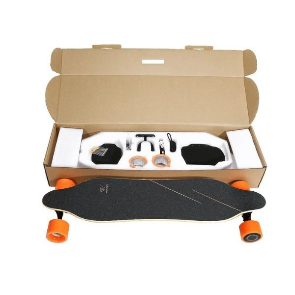 WowGo 3 Electric Longboard In The Box