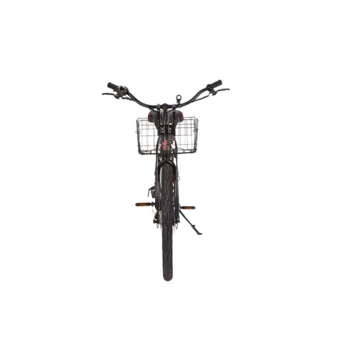 Image of X-Treme Malibu Elite Max 36V Electric Bicycle black front view