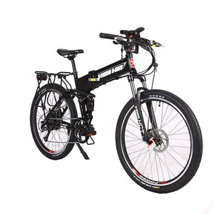 X-Treme Baja Folding Electric Mountain Bicycle Black