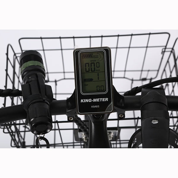X-Treme Catalina Electric Bicycle LCD Display Close Up