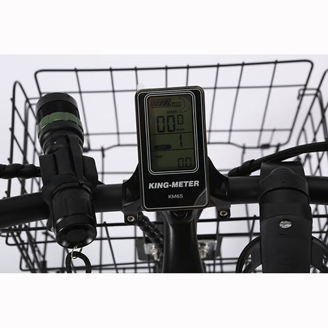 Image of X-Treme Catalina Electric Bicycle LCD Display Close Up
