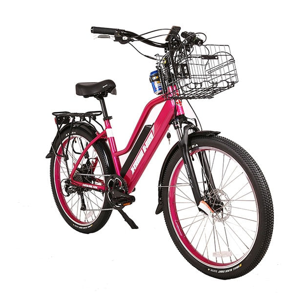 X-Treme Catalina Electric Bicycle Pink
