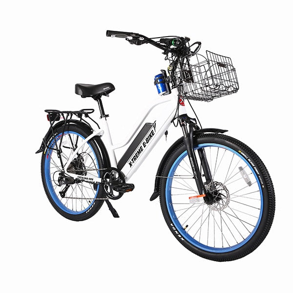 X-Treme Catalina Electric Bicycle White