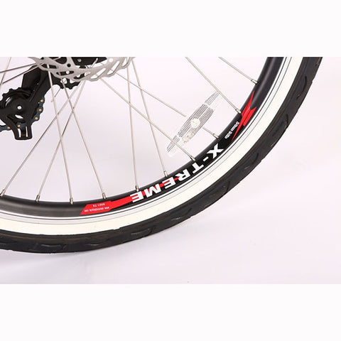 Image of X-Treme Newport Elite Max 36 Volt Beach Cruiser Electric Bike Tire