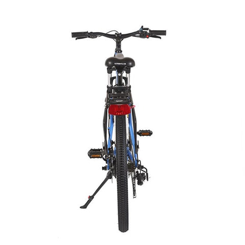 Image of X-Treme Trail Climber Elite 24 Volt Electric Mountain Bike Back View