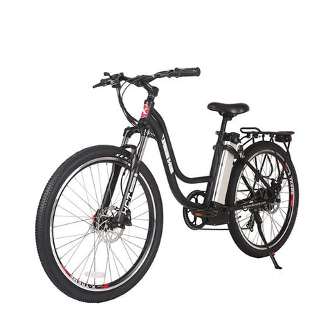 Image of X-Treme Trail Climber Elite 24 Volt Electric Mountain Bike Black
