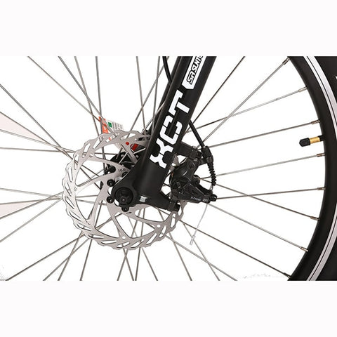 Image of X-Treme Trail Climber Elite 24 Volt Electric Mountain Bike Front Wheel