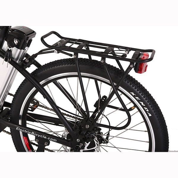X-Treme Trail Climber Elite 24 Volt Electric Mountain Bike Rear View