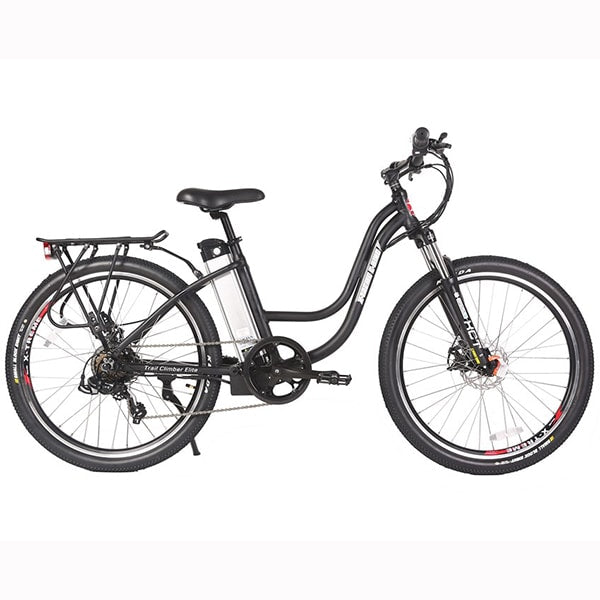 X-Treme Trail Climber Elite 24 Volt Electric Mountain Bike Side View