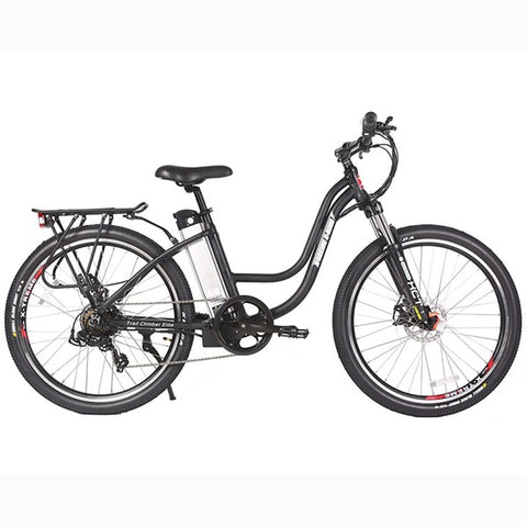 Image of X-Treme Trail Climber Elite 24 Volt Electric Mountain Bike Side View