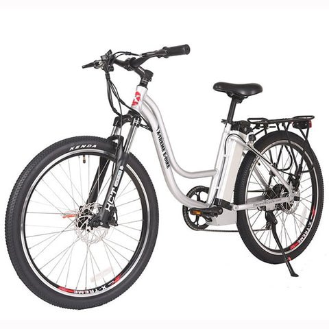 Image of X-Treme Trail Climber Elite 24 Volt Electric Mountain Bike White