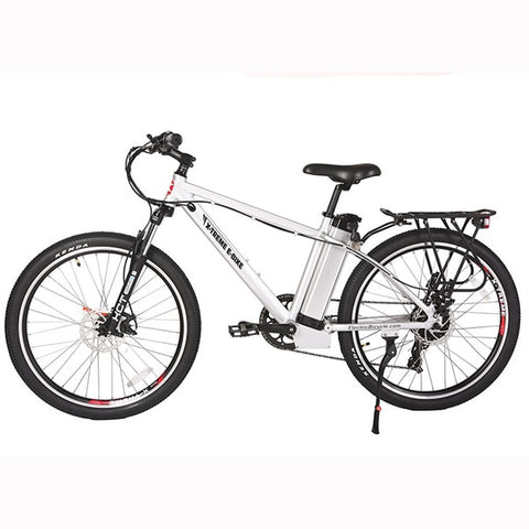 Image of X-Treme Trail Maker Elite 24 Volt Electric Mountain Bike Side View Facing Left