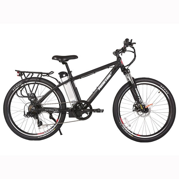 X-Treme Trail Maker Elite 24 Volt Electric Mountain Bike Side view Facing Right