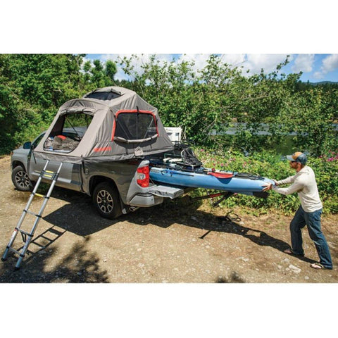 Image of Yakima Skyrise HD Roof Tent kayak storage