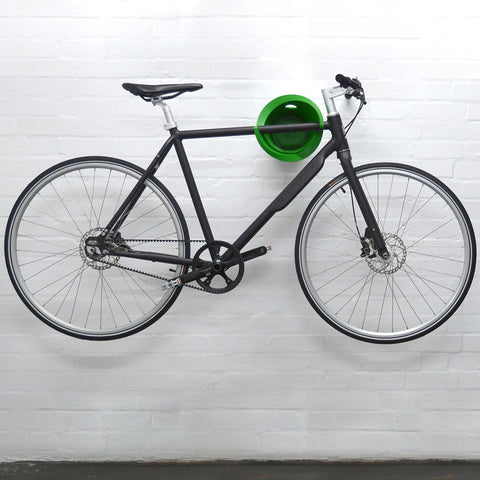 Cycloc bike on wall mounted