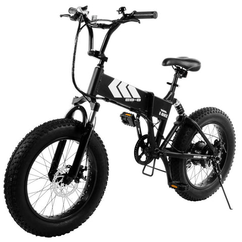 Image of Swagtron EB8 Foldable Fat-Tire All-Terrain Electric Bike