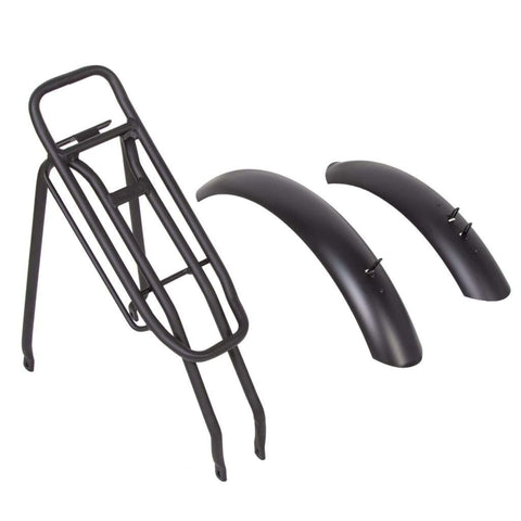 Ecotric fenders and rear rack bundle